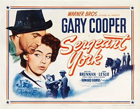 Amazon.com: Sergeant York POSTER Movie (1941) Style B 27 x 40 Inches - 69cm  x 102cm (Gary Cooper)(Walter Brennan)(Joan Leslie)(George Tobias)(Stanley  Ridges)(Margaret Wycherly)(Ward Bond): Prints: Posters & Prints