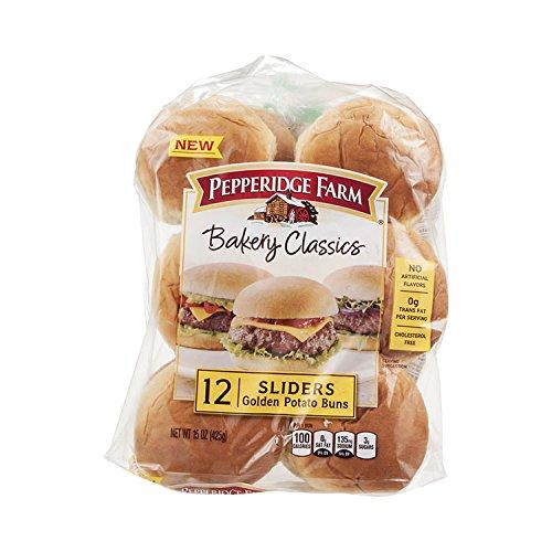 (Pepperidge Farm Bakery Classics Golden Potato Sliders 15 oz (Pack of 2))