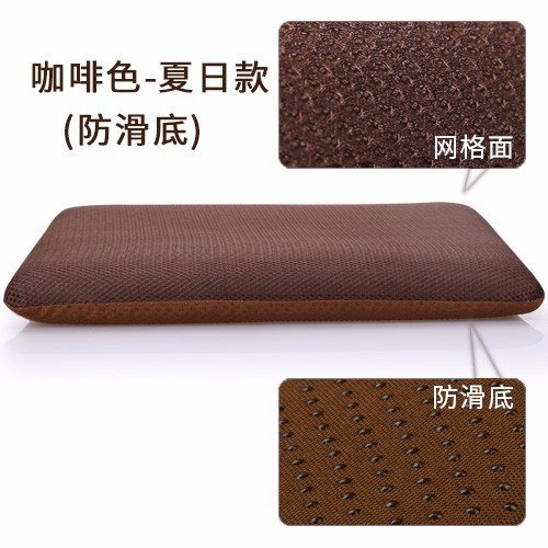 HOMEE Memory Cotton Cushions Office Car Seat Cushions Tatami Anti-Slip Sofa Cushion Chair Cushion ,4040, Thick Dark Gray + Light Gray Strap,Deep coffee + Anti-slip pad Strap,4040 by HOMEE