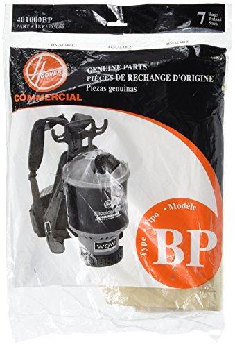 Hoover Type BP Bag - 7 pack, 401000BP