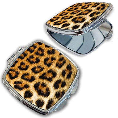 (BleuReign(TM) Cheetah Print Compact Mirror)