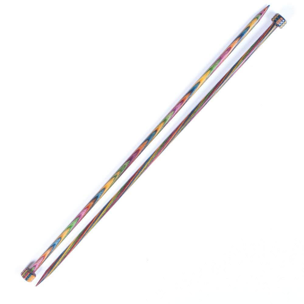 KnitPro Symfonie Wood Straight Needles 35cm - Pair 5.5mm by KnitPro B004GIG1T6