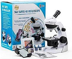 SWIFT Microscopio SS30-8001, Kit de microscopio para niños ...