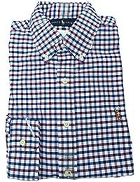 Polo Men's Long Sleeve Oxford Button Down Shirt