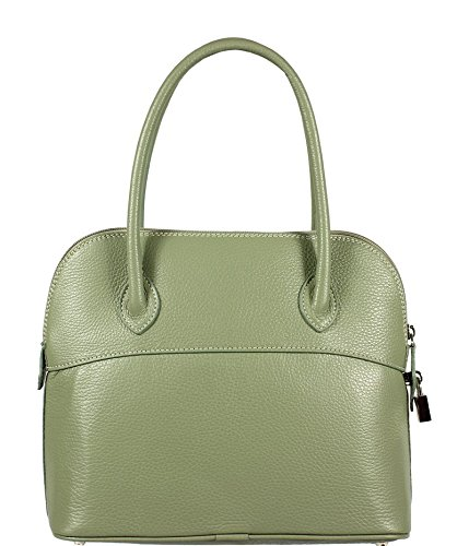 Neue Hand Tasche, Borsa a mano donna verde green small
