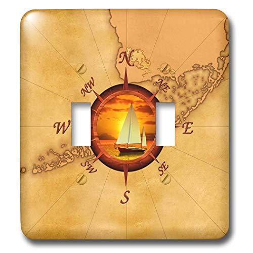 3dRose MacDonald Creative Studios – Nautical - Nautical ma