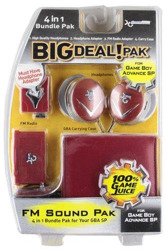 - Dreamgear GBA SP Big Deal 4-in-1 Bundle Pak - Platinum