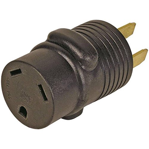 Adaptor Rv 30a Crd-50a Rec Blk by Power Zone