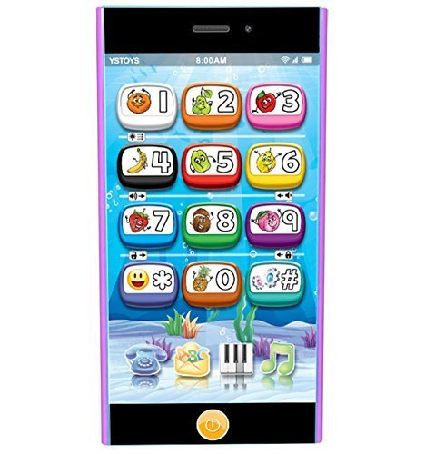 Touch Screen Kids Toy Phone 5S - 9