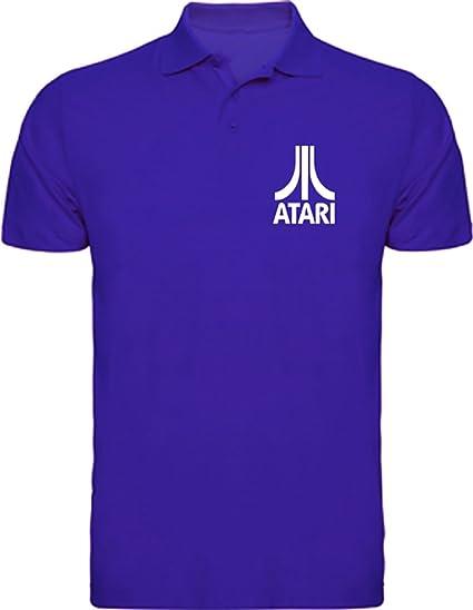 Camisetas EGB Polo Atari ochenteras 80Žs Retro: Amazon.es: Ropa y accesorios