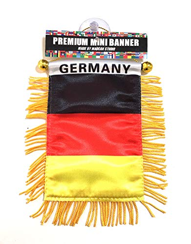 (German Flag Small flag of Germany automobile car suv truck or Home or Office design)
