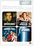 TCM Greatest Classic Films Collection: Science Fiction (2001 A Space Odyssey / Soylent Green / Forbidden Planet / The Time Machine 1960) by Keir Dullea