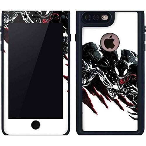 sports shoes a25d8 e46e8 Amazon.com: Venom iPhone 8 Plus Case - Venom Slashes | Marvel X ...