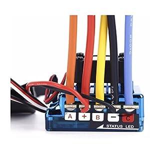 SUNFLYING 120A Sensored Brushless Speed Controller ESC for 1/8 1/10 1/12 RC Car