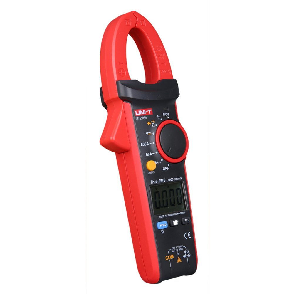 UNI-T UT216A 600A Digital Clamp Meters DC Current NCV Tester V.F.C Diode LCD Display Work Light AUTO Range Multimeters by UNI-T (Image #4)