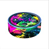Skin Decal Vinyl Wrap for Amazon Echo Dot 2 (2nd generation) / Paintsplatter2