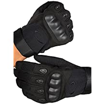 Tactics Gloves Military Rubber Hard Knuckle Outdoor Gloves For A Variety Of Sports Or Outdoor Scenes(Long)