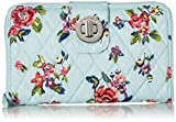 Vera Bradley RFID Turnlock Wallet, Signature Cotton, Water Bouquet