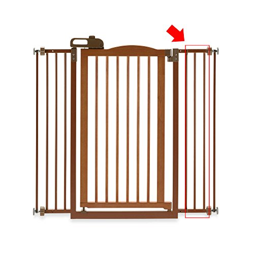 One-Touch Wide Pressure Mounted Pet Gate II White (One Touch Gate)