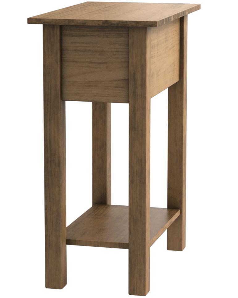legno di pino Mobiletto con 1 sacchetto Birlea Furniture