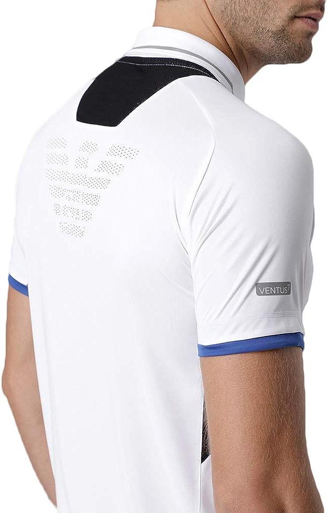Emporio Armani 3GPF76PJV6Z1100 Polo para Hombre 7 EA7 Tennis Pro ...