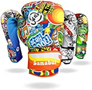 Sanabul Sticker Bomb Adult Boxing Kickboxing Training Gloves