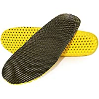 AEGISWARM Elastic Shock Absorbing Shoe Insoles Breathable Honeycomb Work Boots Inserts Comfort Shoe Insole Replacement 1…