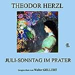 Juli-Sonntag im Prater | Theodor Herzl