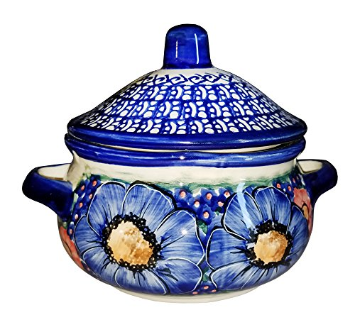 Polish Pottery Container - Eva's Collection