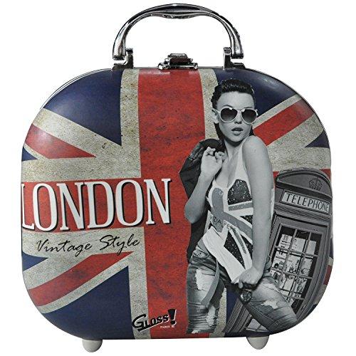 Gloss! Beauty Case London Vintage Style, 1er Pack (1 x 12 Stück)