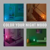 LED Night Lights with Smart Sensor - Pack of 2 Plug In Night Light - Color Changing Ultra Slim & Compact Energy Efficient Led Lights by KALMIRIS