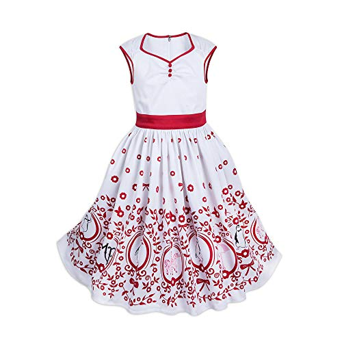 DisneyParks Mary Poppins Dress for Girls (Medium) White