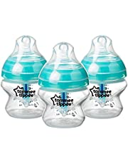 Save on Tommee Tippee Advanced Anti-Colic Baby Bottles, 150 ml, 3 count and more