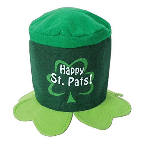 Club Pack of 12 Happy St. Pats! Hat St. Patrick's Day Costume Accessories by Party Central