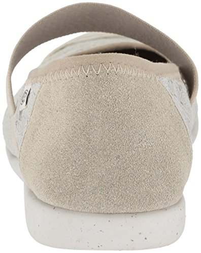 KEEN Womens Sienna MJ Canvas Shoe Silver Birch/Canteen BwbeeBR