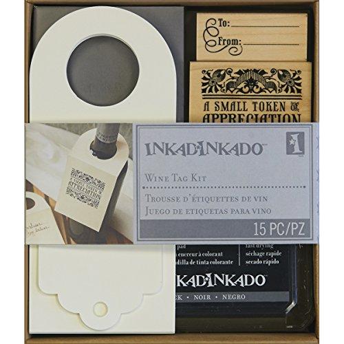 - Inkadinkado Stamping Kit, 6