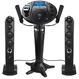 "Singing Machine Pedestal CD+G Karaoke Player w/ iPod Dock & 7"" LCD Color Monitor"
