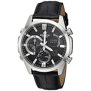 Casio Men's 'Edifice' Quartz Stainless Steel Casual Watch, Color:Black (Model: ERA500L-1A) 5
