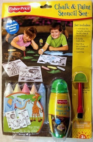 Chalk & Paint Stencil Set
