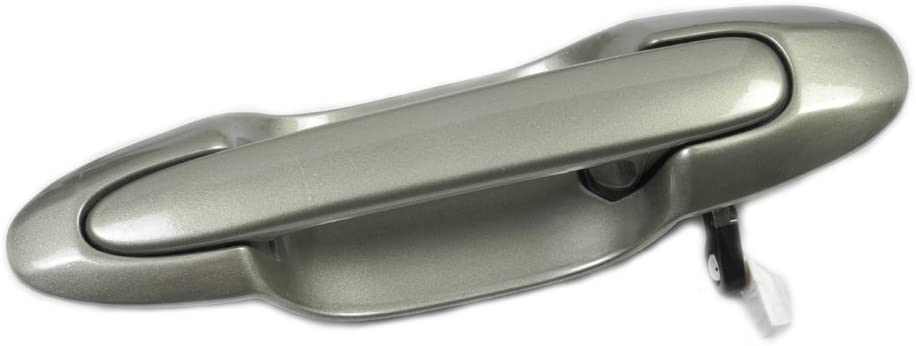 Rear Left Outside Door Handle For 00-06 Mazda MPV Highlight Silver 18G DM118G3