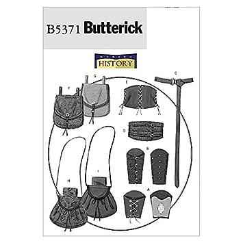 Butterick Schnittmuster Damen und Herren 5371 – Historische ...