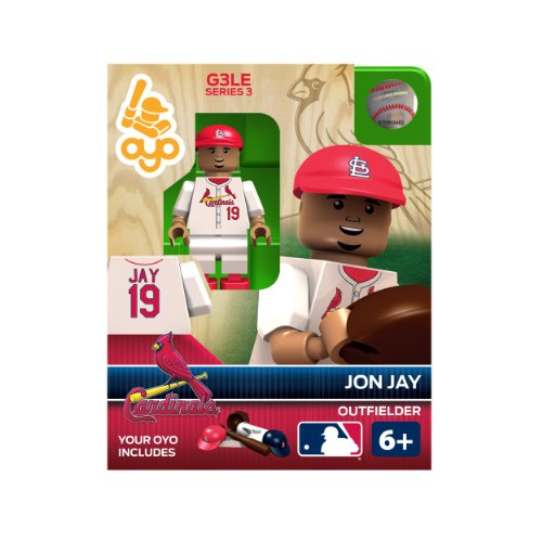 MLB St. Louis Cardinals Jon Jay Generation 3 Toy Figure