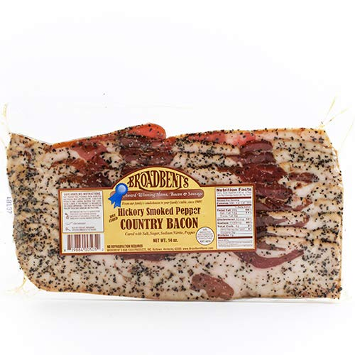 (Broadbent's Kentucky Bacon - Black Pepper (14 ounce))