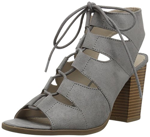 Rampage Women's Emmie Heeled Sandal Grey Micro 7.5 for sale  Delivered anywhere in USA
