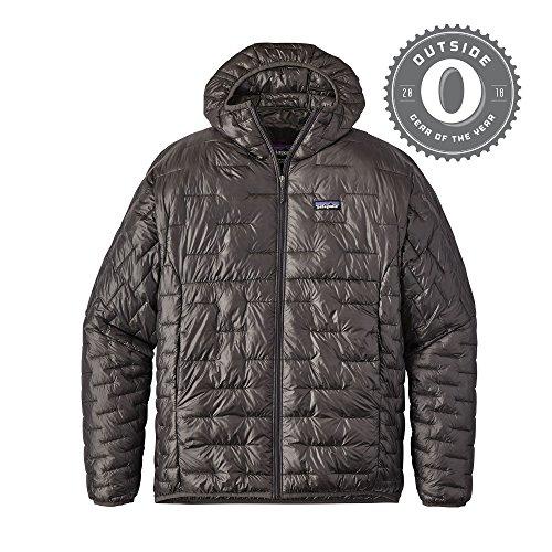 Patagonia Men's Micro Puff Hoody (Forge Grey, Large) -