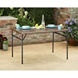 Mainstays 34'' x 48'' Faux Wood Table