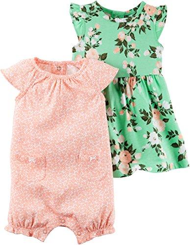 Carters Girls 3 Piece Dress Bottoms