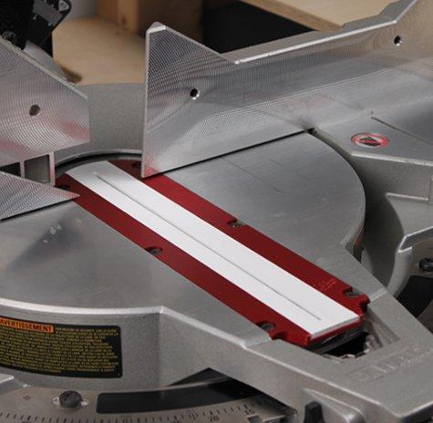 Aluminum Zero Clearance Insert (Z.C.I.) Plate for DeWalt 10