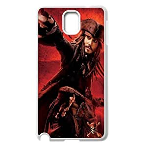 C-EUR Customized Print Pirates of the Caribbean Hard Skin Case Compatible For Samsung Galaxy Note 3 N9000