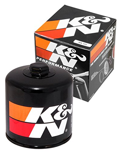 KN-134 K&N Performance Oil Filter; POWERSPORTS; CANISTER (Powersports Oil Filters):